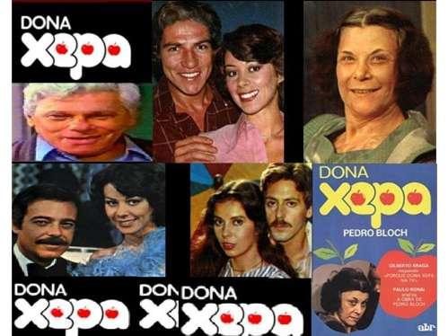 D. Xepa  -  Novelas Antigas 70s  -  Compacto Completo