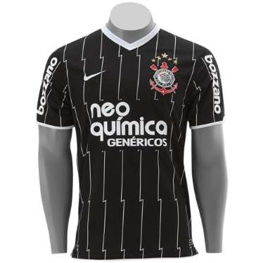 Camisa Corinthians Nike 2011 - PRETA